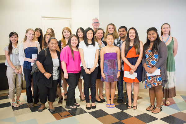 Twenty-six CoBE students who received scholarships